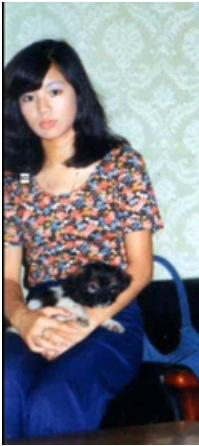 1973 with dog